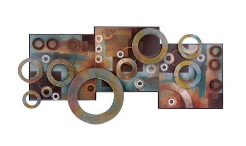 Deco 79 64310 Metal & Wood Wall Decor