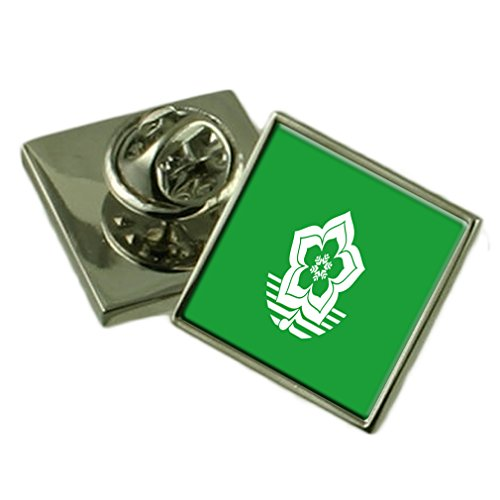 Harbin City South Africa Flag Lapel Pin Engraved Box by Select Gifts
