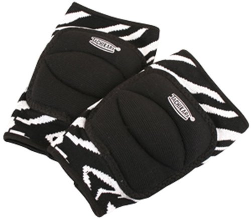 Tachikara Zebra Knee Pads, Large-Xlarge