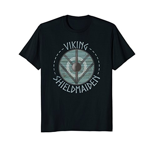 Viking Shield Maiden Shieldmaiden T-shirt Princess Warrior -