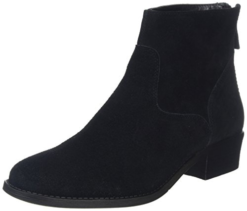 Schwarz Ankle Foot Boots New Damen Schwarz Wide Look Deeds tnq8X
