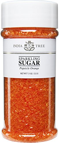 India Tree Sugar, Popsicle Orange, 7.5 -