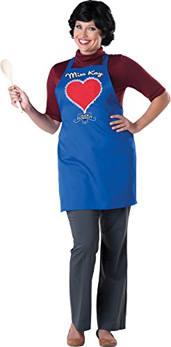 UHC Duck Dynasty Miss Kay Robertson Apron & Wig Womens Halloween Fancy Costume, OS
