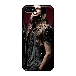 Scratch Protection Hard Phone Case For Iphone 5/5s (eJd8452MkyY) Customized Stylish Megadeth Band Series