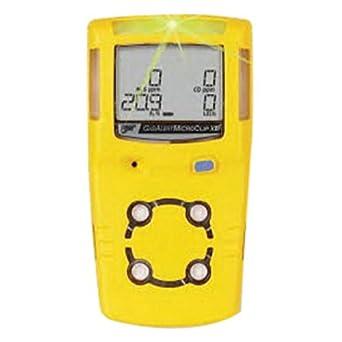 BW tecnologías por Honeywell amarillo microclipxl detector de monóxido de carbono, y oxígeno de sulfuro de hidrógeno: Amazon.es: Amazon.es
