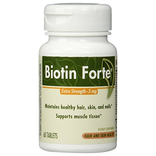 Enzymatic Therapy Biotin Forte Extra Strength Remedies, 60 Count