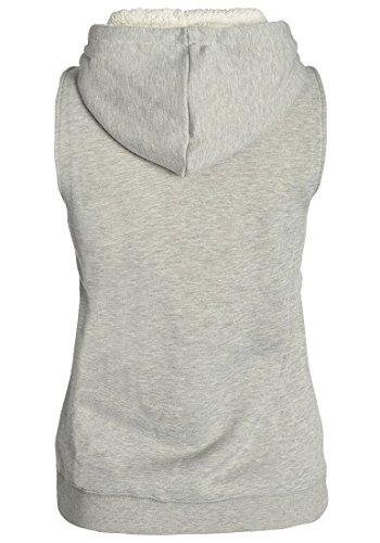 DESIRES Derby Pile - Chalecos para Mujer Light Grey Melange (8242)