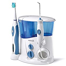 Waterpik WP-900 Complete Care Water Flosser and Sonic Toothbrush, White