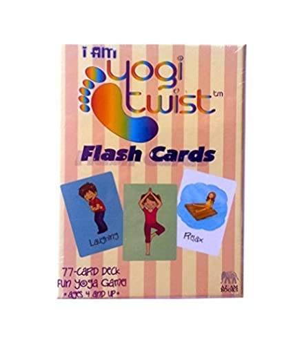 Amazon.com: I AM Yogi Twist Flash Cards by AZIAM Yoga: Toys ...