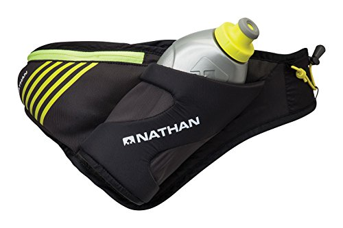 Nathan Peak Hydration Waist Pack with Storage Area & Run Flask 18oz - Running, Hiking, Camping, Cycling