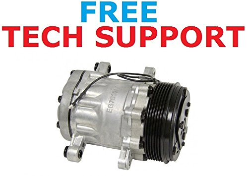 AC Compressor & A/C Clutch For Freightliner-Replaces Sanden