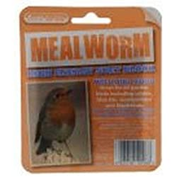 Unipet Suet To Go Mealworm Block In Tray Bird Treat (One Size) (May Vary)