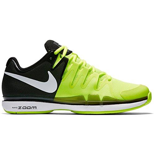 Chaussure Nike Zoom Vapor 9.5 Tour Black Yellow Spring 2017 - 40