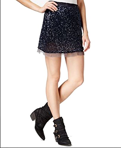 Sparkle Mini Skirt - 8