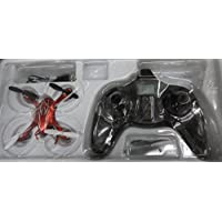 Hubsan X4 (H107C HD) 4 Channel 2.4GHz RC Quad Copter with 720p HD Camera - Red/Silver