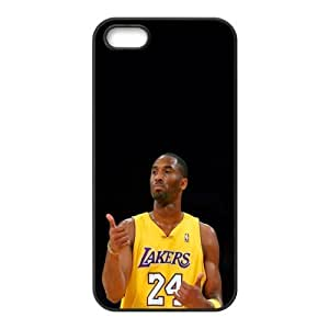 The NBA star Kobe Bryant for Apple iPhone 5/5S Black Case Hardcore-8