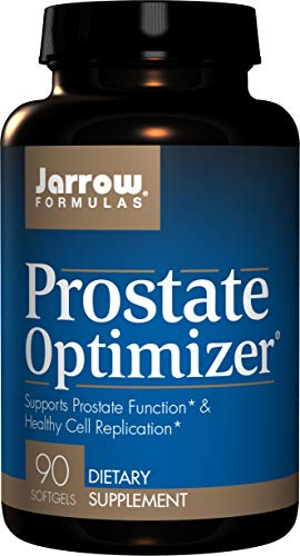 Jarrow Formulas Prostate Optimizer, Supports Prostate Function & Healthy Cell Replication, 90 Softgels