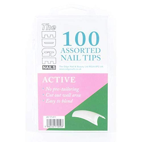 The Edge Active Nail Tip - Pack of 100 by The Edge Nails
