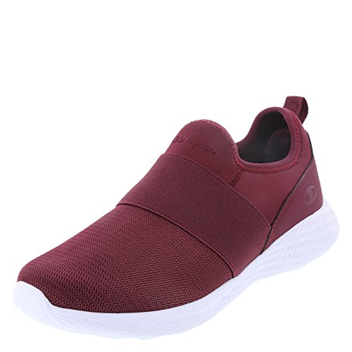 Champion Maroon Women's Strike Slip-On 7 Regular (Flats Champion)