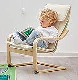 Ikea Poäng Children's Armchair, Birch