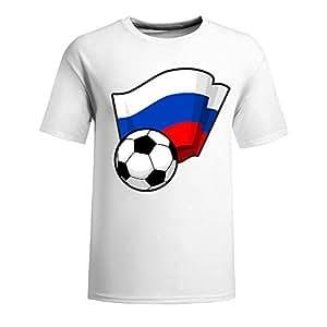 Custom Mens Cotton Short Sleeve Round Neck T-shirt,2014 Brazil FIFA World Cup Soccer Girls navy