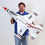 E-flite RC Airplane F-16 Thunderbirds 70mm EDF BNF