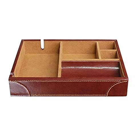 | 50% OFF | Dulwich Designs | Men's Accessories | chestnut brown heritage valet (Design Vassoio)