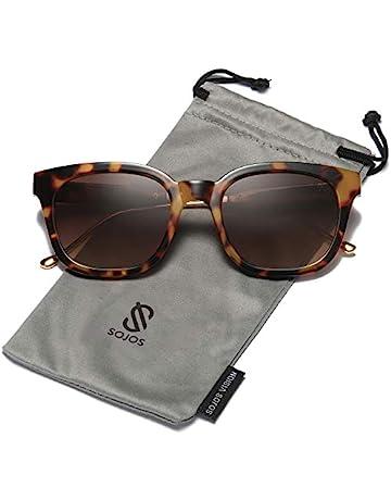 2d330e441e1b SOJOS Classic Polarized Sunglasses for Women Men Mirrored Lens SJ2050