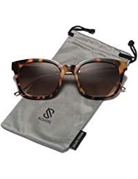 Classic Polarized Sunglasses for Women Men Mirrored Lens SJ2050
