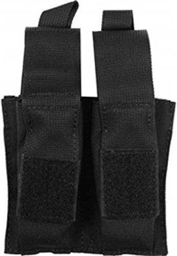 - BLACKHAWK! 37CL10BK Double Pistol Mag Pouch with TalonFlex, Black