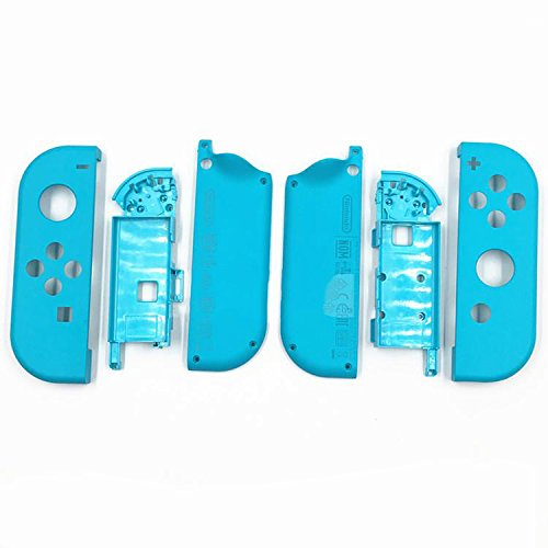 Full Housing Faceplate Shell Case Cover & Battery Middle Plate Frame Replacement Part Nintendo Switch NS NX Joy-Con - Housing Faceplate Frame
