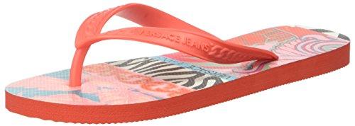 Versace Jeans Ee0vpbsh1_e77201 - Sandalias de dedo Mujer Rosa (Fucsia)