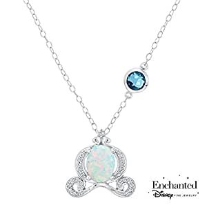 Amazon.com: Enchanted Disney Fine Jewelry Created Opal and ...