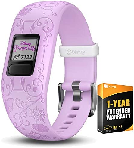 Garmin Vivofit jr. 2 – Adjustable Band with Disney Princesses 010-01909-34 with 1 Year Extended Warranty