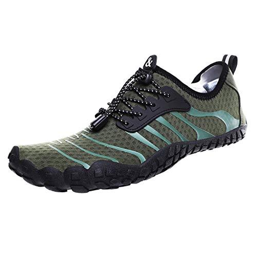 (Yucode Mens Water Sports Shoes Quick Dry Barefoot Aqua Socks Swim Shoes for Pool Yoga Shoes Beach Walking Running)