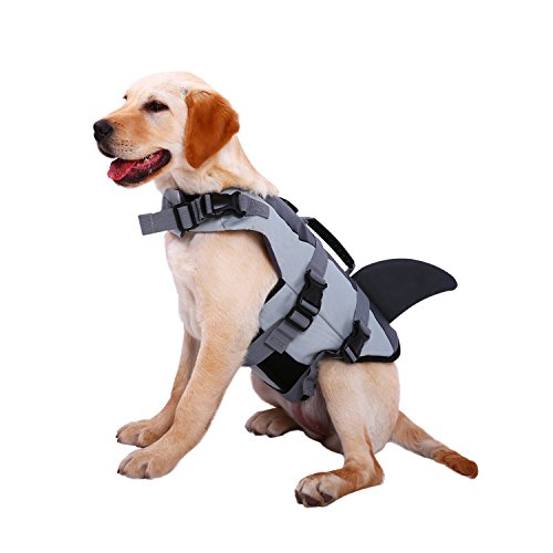 Dog Life Jackets, Ripstop Pet Floatation Life Vest for Small,