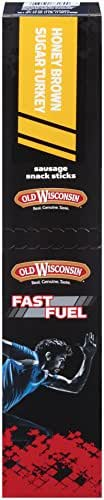 Jerky & Dried Meats: Old Wisconsin Fast Fuel Sticks