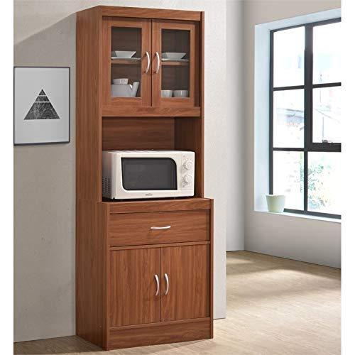 Pemberly Row Kitchen Cabinet in Cherry