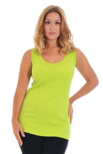 Rib Vest Neon 14