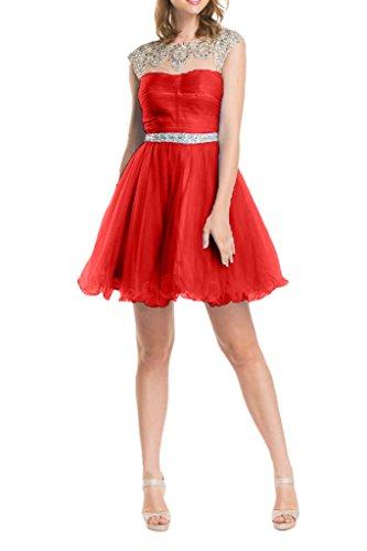 Tuell La Abendkleider Feiernkleider Rot Partykleider Geburtstag