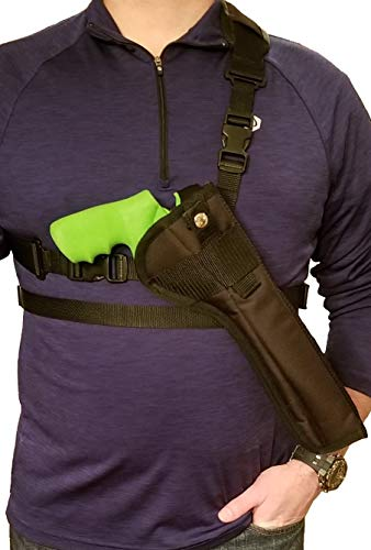 Silverhorse Holsters Chest/Shoulder Gun Holster | Fits Smith & Wesson 460, 500 X Frame Revolvers with a 6.5
