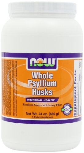 NOW  Whole Psyllium Husk, 24-Ounce(Pack of 3)
