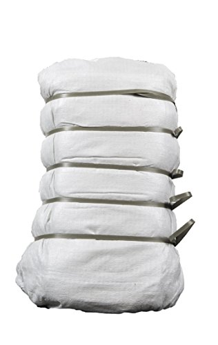 """upnorth sand bags - empty white woven polypropylene sandbags w/ ties, w/ uv protection; size: 14"""" x 26"""" , qty of 1000"""