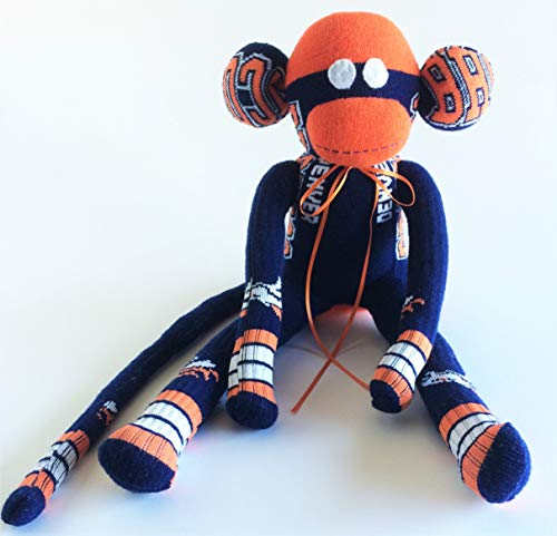 0ba8c0a67dc Denver Broncos Themed Sock Monkey - NFL - National Football League -  Colorado Sock Monkey -