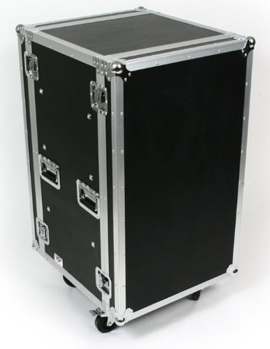 20 Space (20U) ATA Rack Amp Road Shock Mount Case (20