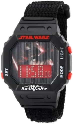 Star Wars Kids' 9005862 Star Wars Darth Vader Plastic Watch with Black Band
