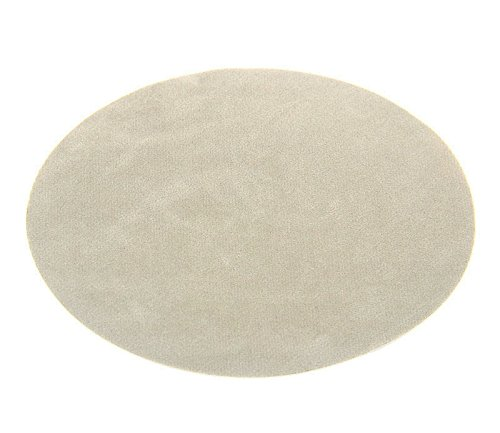 - Beaulegan Repair Patches - 4 PCS Elbow Knee Iron-on Velvet Patches, Oval & Light Gray