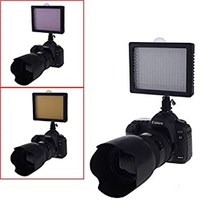 Bestlight Professional 216 LED Dimmable Ultra High Power Panel Digital Camera / Camcorder Video Light W216 With 216pcs Lamps, LED Light for Canon, Nikon, Pentax, Panasonic,SONY, Samsung and Olympus Digital SLR Cameras from Neewer