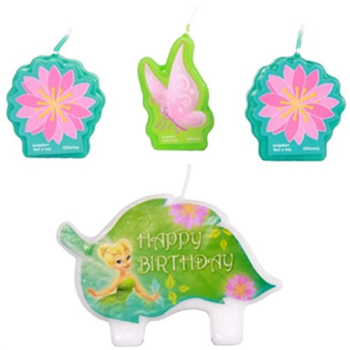 Tinkerbell Birthday Cake Candle Set Party Supplies -