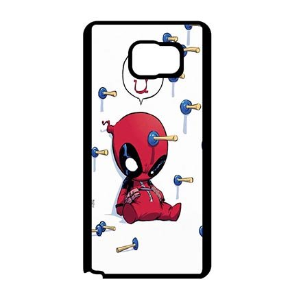 Hard Back Case Cover for Samsung Galaxy Note 7, Comics Characters Deadpool Ultra Thin Cell Phone Casing For Boys